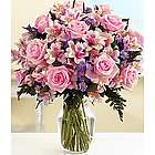 Deluxe Pink Sapphire Floral Bouquet