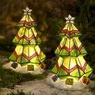 Colorful Solar Christmas Tree Garden Decoration