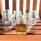 Personalized Mini Drinking Jar Shot Glasses