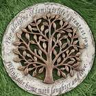 Blessings of Family Garden Stone
