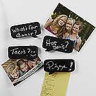 Chalkboard Comment Fridge Magnets