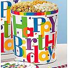 Big Happy Birthday Popcorn Tin