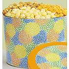 Summer Blossoms 2 Gallon Popcorn Tin