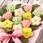 Mother's Day Flower Cookies with Mason Jar