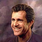 Mel Gibson Oil Painting Giclee