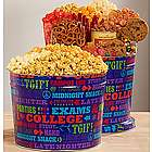 University of Snacks Popcorn Tin