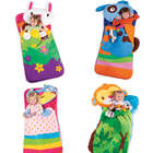 Animal Sleeping Bag with Plush Pillow