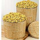 3-1/2 Gallon Caramel Lovers Popcorn Tin
