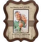 Two Hearts Personalized Picture Frame