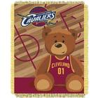Cleveland Cavaliers Half Court Baby Jacquard Throw