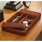 Leather Dresser Valet Tray