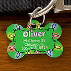 Christmas Personalized Pet ID Tag