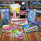 Pick a Flick Movie Gift Basket with New DVD