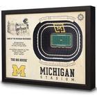 Michigan Stadium 3D View Wall Art