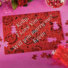 Message Puzzle in Gift Bag