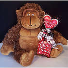 Valentine Gorilla with Hershey Kisses