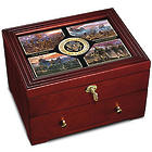 US Army Defenders Of Freedom Strongbox with James Dietz Art