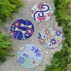 Colorful Bali Mosaic Garden Stepping Stone