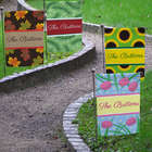 Personalized All Seasons Garden Flag Set