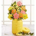 Cookie Bouquet Flower Jar