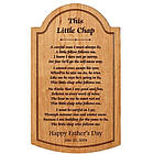 Personalized Carved Wooden Plaque