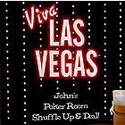 Elvis Viva Las Vegas Personalized Bar Art