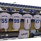 Personalized Canvas MLB American League Locker Room Print