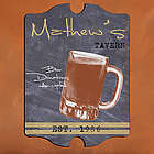 Vintage Mug Personalized Tavern Sign