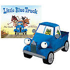 Little Blue Truck Gift Set with Book and Blue Poly Plush Toy