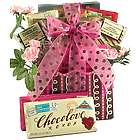 Love Letters in Chocolate Romantic Gift Basket
