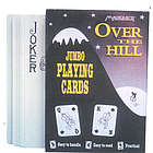 Over The Hill Jumbo Playing Cards