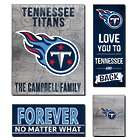 Personalized Tennessee Titans Love Mega Canvas Prints