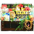 Premium Florida Themed Gift Basket in Wood Trunk