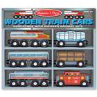 Handpainted Wooden Train Car Toys