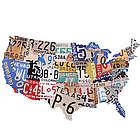 USA License Plates Plaque
