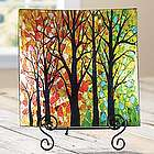 Walk In The Woods Decorative Plate with Easel