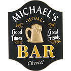 Handcrafted Home Bar Sign