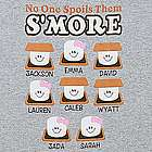 Personalized Spoils Them S'more T-Shirt
