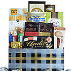 Sweet Plaid Sweets and Snacks Gift Basket