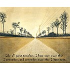 Long Journeys Personalized Fine Art Print