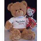 Feel Better Ladybug Teddy Bear