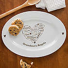 Her Heart of Love Personalized Platter