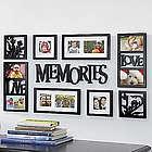 Memories 9-Piece Wall Frames Decor