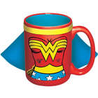 Wonder Woman's Not Invisible Caped Mug