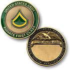 Army Keepsake Coins by Rank
