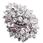 Sparkling Diamante Brooch