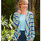 Cascade Striped Cardigan