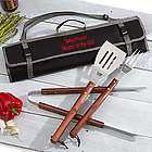 Grill Master Personalized BBQ Tool Set