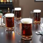 Personalized Beer Mugs Set