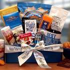 Best Dad Ever Gourmet Gift Box with Father's Day Ribbon